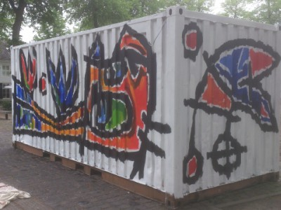Container in Oisterwijk